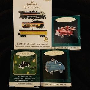 Hallmark Keepsake miniature Christmas ornaments